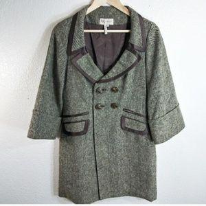 BCBGeneratio Womens Pea Coat Size Medium